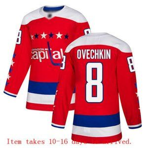 Washington Capitals #8 Alex Ovechkin Jersey